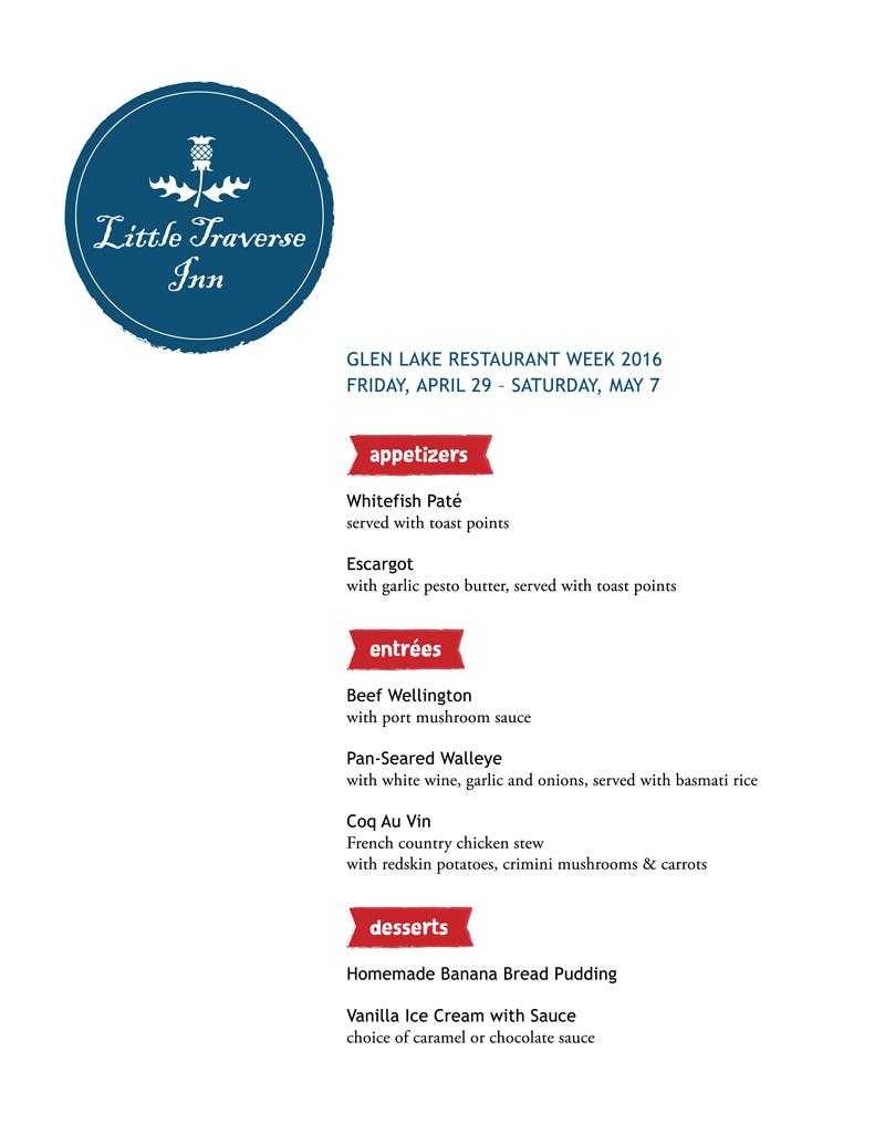 LTI 2016 Restaurant Week menu