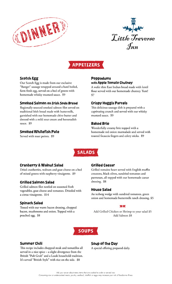 Winter menu 2017 2018 Page 1