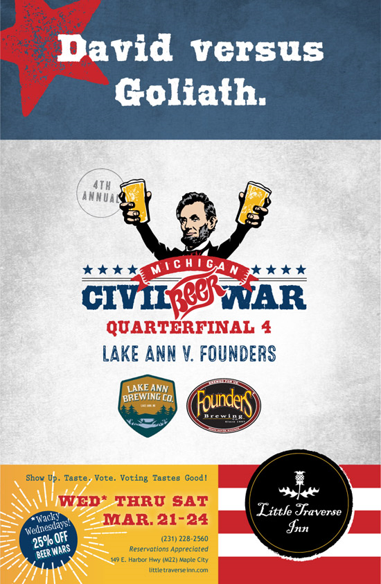 Lake Ann v Founders Poster